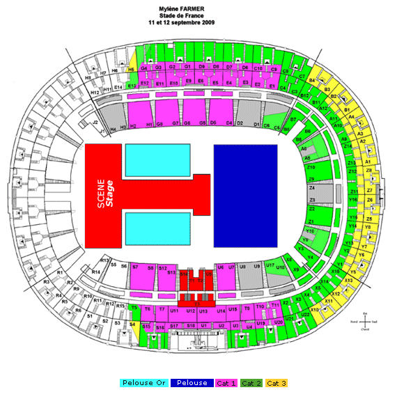 Stade de france derni res places actualit monalice myl ne farmer - Stade de france place vip ...