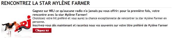 Recit rencontre mylene farmer