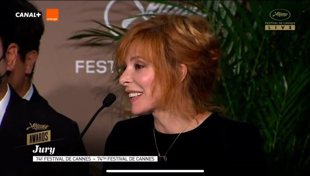 Mylène Farmer parle de son expérience en tant que jurée à Cannes