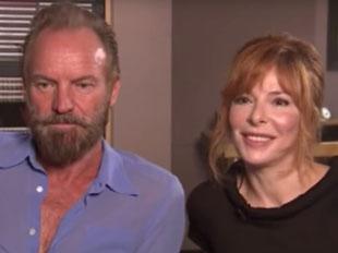 Extrait d'une interview inédite de Mylène et Sting