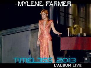 Publicité album live Timeless 2013 - 2