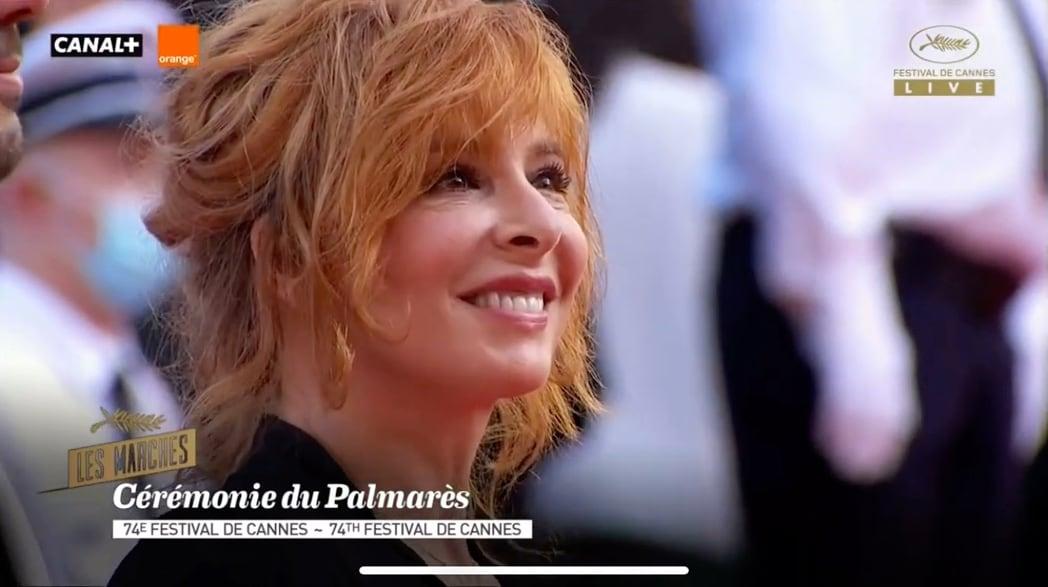 Montée des marches cérémonie du Palmarès à Cannes